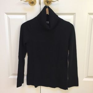 Women's Caslon black turtleneck sweater